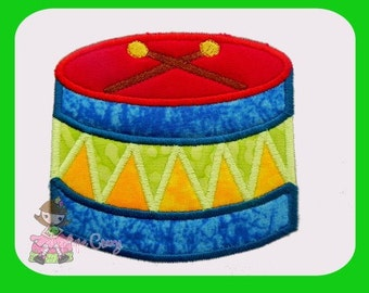 Drum Applique design