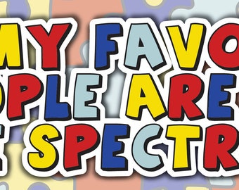 Spectrum Bumper Sticker