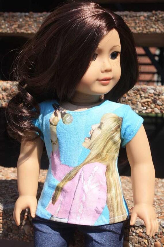 American Girl Doll Tee - Hannah Montana - Reserved for Caitlin