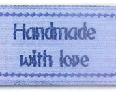 Sewing Labels, Labels for Sewing, Quilting and Crafts, Love Labels, Handmade with love BL-LL2554