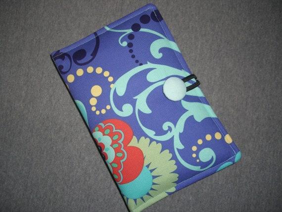 Padded Kindle Fire Case, Nexus 7 Google, Amazon Kindle Cover - Amy Butler Fabric