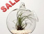 Handblown Clear Glass Globe / Bauble (ON SALE)