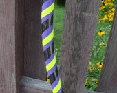 GaLaXy GLOW // Collapsible Infinity Hula Hoop // Custom // Made to Order // Any Size // Neon