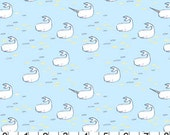 Whales and Narwhal Fabric by Sarah Jane from Michael Miller