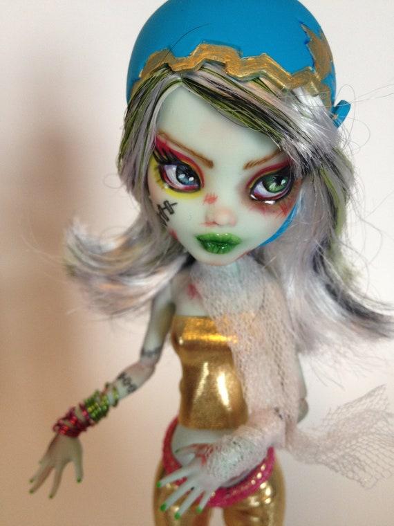 Roller Derby Monster High Dolls Ooak Monster High Doll
