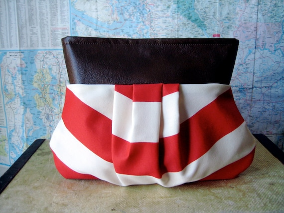 Carnival-- pleated clutch