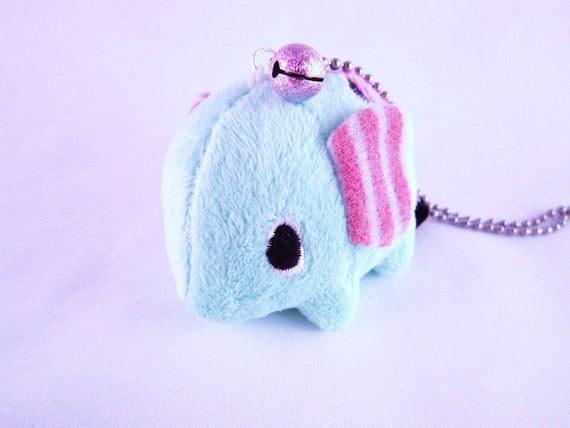 Elephant Mouton Sentimental Circus Chunky Kawaii San-X Charm Necklace ERROR - Last One