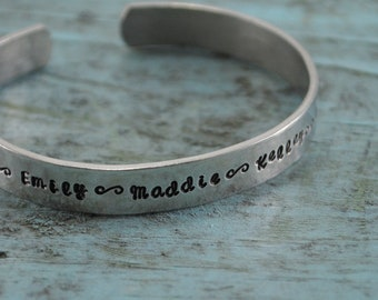 SALE Personalized Name Cuff