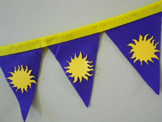 6 Foot Tangled Rapunzel Sun Banners