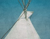 Tee Pee, On the Road 8 x 10 Photography