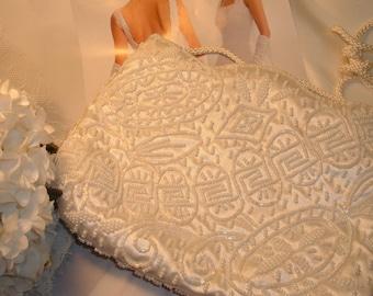 Bridal Bag, Pearl Clutch, Wedding Accessory,Wedding  Purses