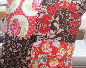 Personalised Patchwork and Applique Cushion Pillow