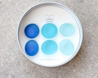 Glass Gem Magnets - The Blues FREE SHIPPING