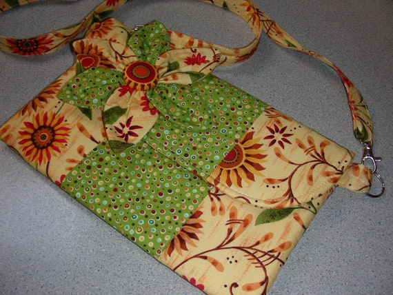 SALE! FREE SHIPPING! Cross Body Bag with Removeable Handle, Tablet/eReader Cover/Case, or Use as a Small Purse or Bag