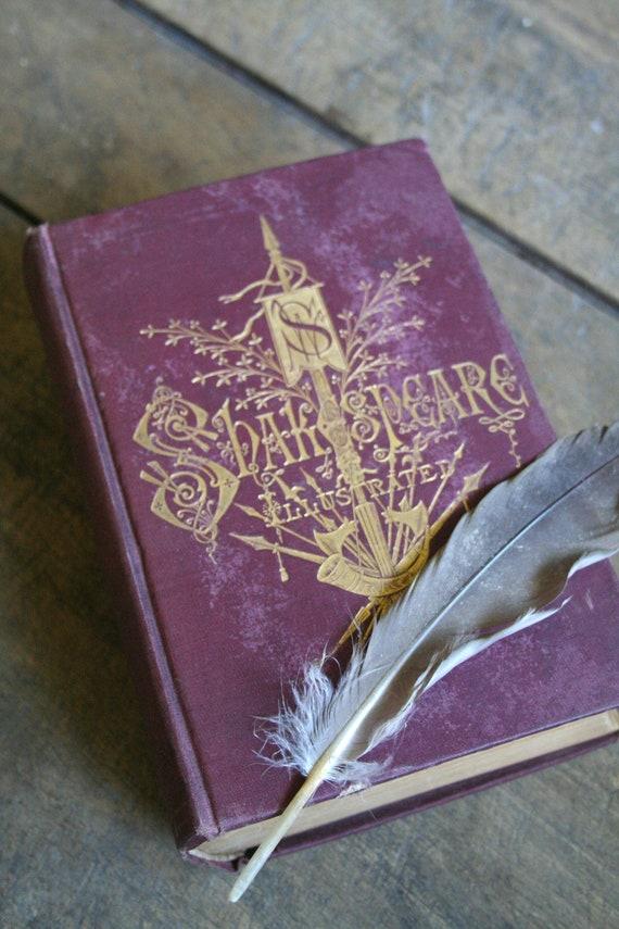 Antique Shakespeare Book