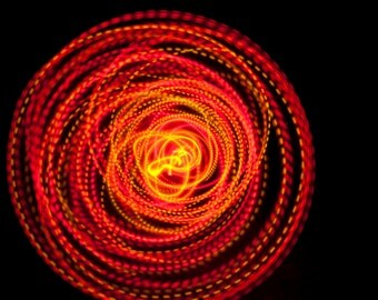 SALE price - Free Shipping - Strobing LED Hula Hoop - The Solar Flare Free Shipping