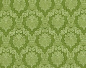 Amanda by Blank Quilting, Green Fabric, Floral Fabric, Shabby Chic, 00849