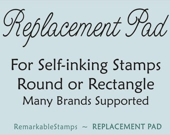 Replacement Stamp Pad for Self-inking Stamps