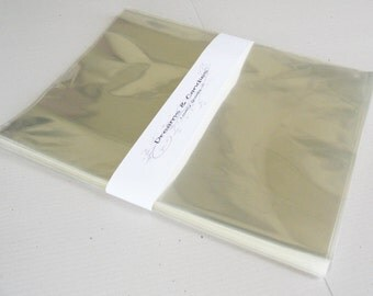 150- 8 x 10 Clear Cello Bags