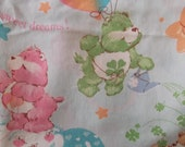 1980's Care Bear Sheets (Twin - Flat and Fitted)