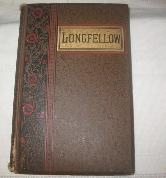The Poetical Works of Henry Wadsworth Longfellow 1891 Riverside Press Illustrated Hiawatha