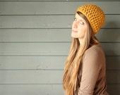 CUSTOMIZABLE Adult Chunky Crochet Beanie
