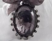 SALE ~Antiqued Handmade Soldered Pendant --- SP-14