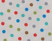 Bungle Jungle Collection - Children's Bungle Dots - Grey - by Tim and Beck for Moda Fabrics - Children's Fabric