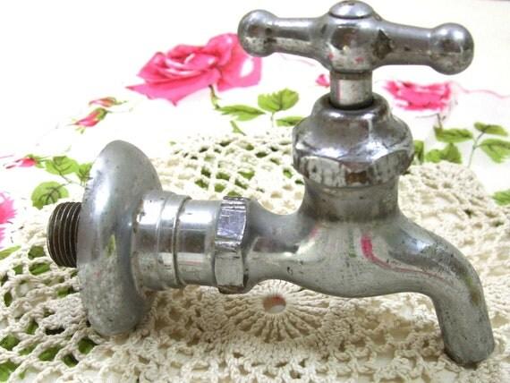 Outdoor Water Spigot Water Faucet Vintage Garden Faucet
