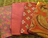 Silk Fat Quarters, Silk Fabric