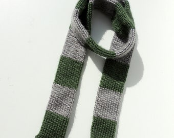 "Harry Potter Scarf Slytherin House fits 18"" Dolls like American Girl"