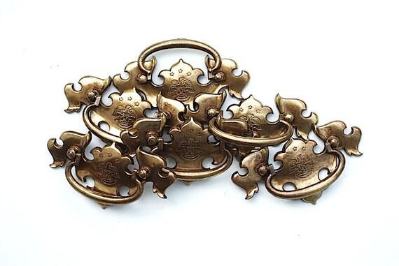 Antique Brass Drawer Pulls Antique Brass Dresser Drawer