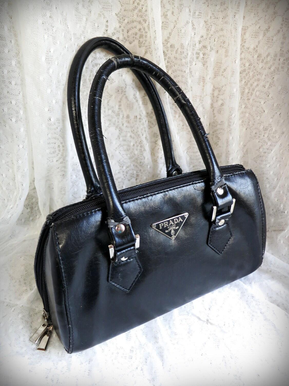 Prada Milano Käsilaukku : Prada milano inspired handbag purse by