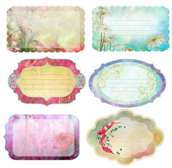 in STOCK Prima FIREFLY notecards - journaling collection - just released cha 2012