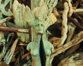 Slivered Driftwood Woman