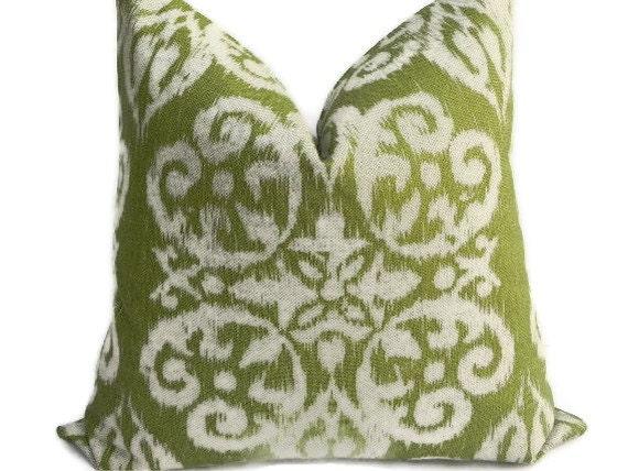 Ikat Medallion BOTH SIDES 20X20 Pillow Cover Designer Home Decor Fabric-Throw Pillow-Accent Pillow-Living Room Pillow-Toss Pillow