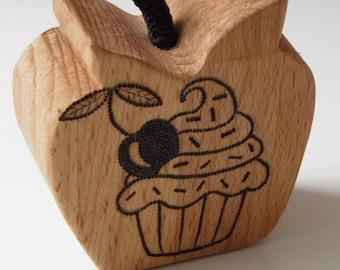 Cherry Cupcake Tattooed Apple