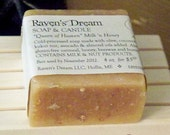 Queen of Heaven, Milk 'n Honey Soap - unscented with Gluten-Free Oats, Honey & Maine Buttermilk