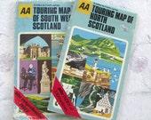 Old Scottish maps.