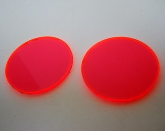 UV Red lens addition for goggles - see through