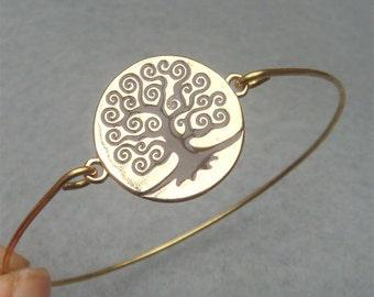 Tree Bangle Bracelet Style 6