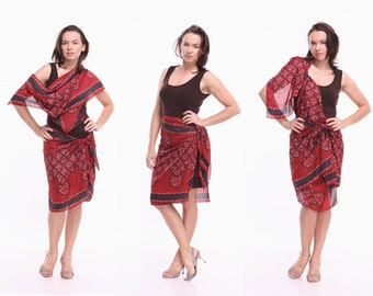 Tango Dress - Transformer, Tango Clothes in Brown, Custom Color Tango Clothing in Fabric and Jersey