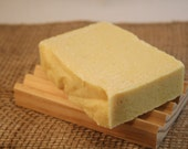 Sweet Orange Sea Salt Handmade Soap / 100% Natural Soap / Essential Oil Soap / Cold Process Soap / Citrus Soap