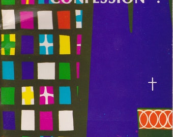 "Catholic Booklet - ""Are You Tired of Confession"" - 1972"