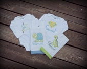 Onesie and Burp Cloth Gift Set - You Customize