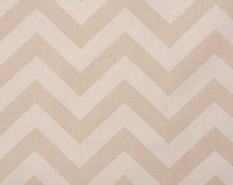 2 Pillow Covers 16x16 inch-Free US Shipping - Zig Zag in Khaki/Natural