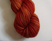 Kettle Dyed Sock Yarn - Emblaze