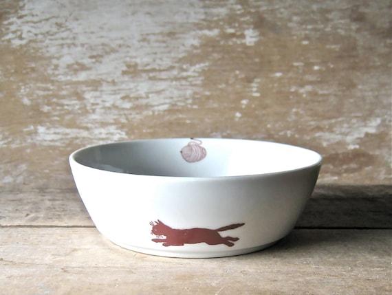 Pet Food Bowl For Cat, Dishwasher Safe Pet Bowl, Ready to Ship