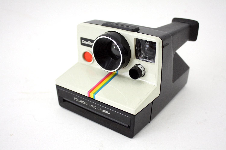 Vintage Polaroid Camera - klejonka
