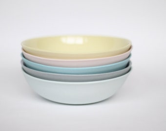 dipping bowl - porcelain (citrus colour)